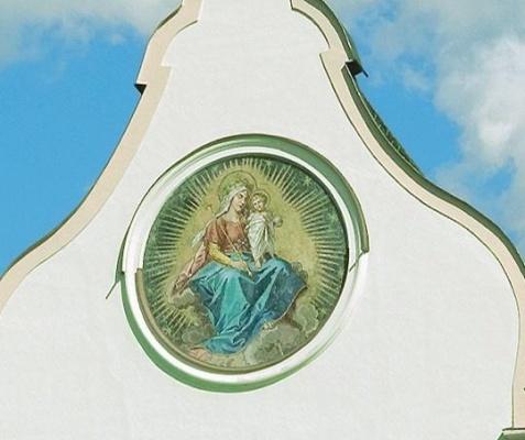 Fassadenmosaik